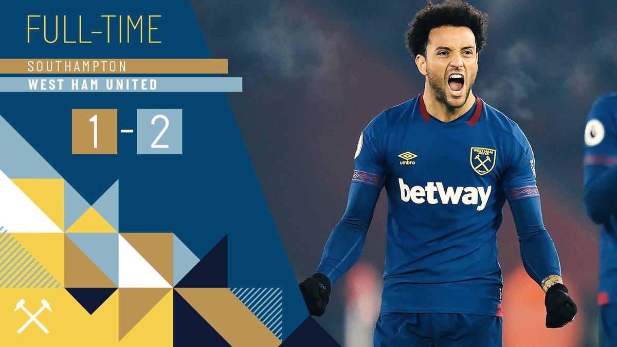 Southampton – West Ham 1-2