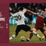 West Ham – Tottenham 2-3
