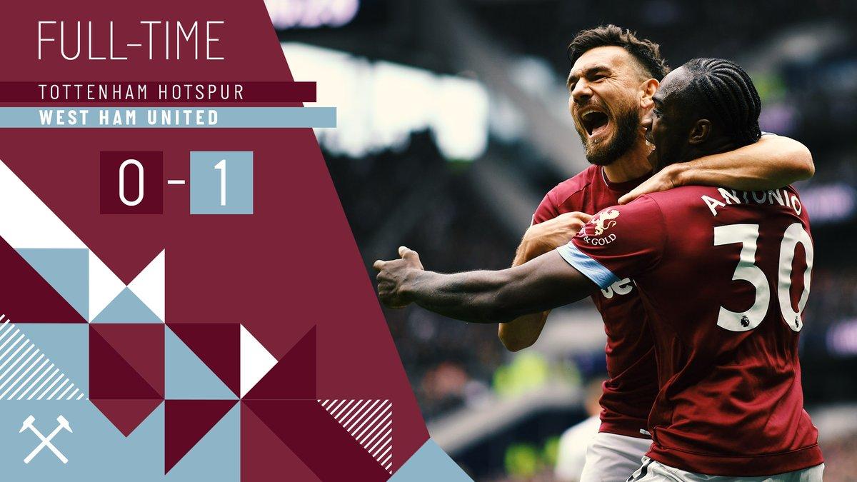 Tottenham – West Ham 0-1