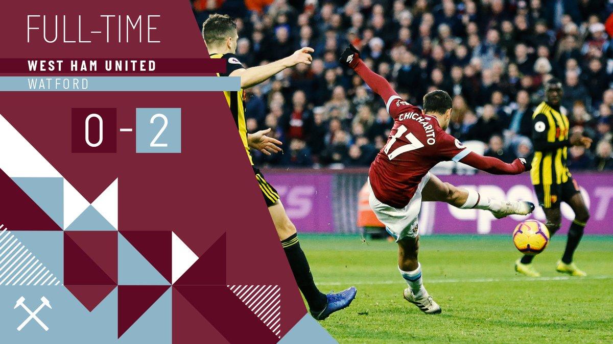 West Ham – Watford 0-2