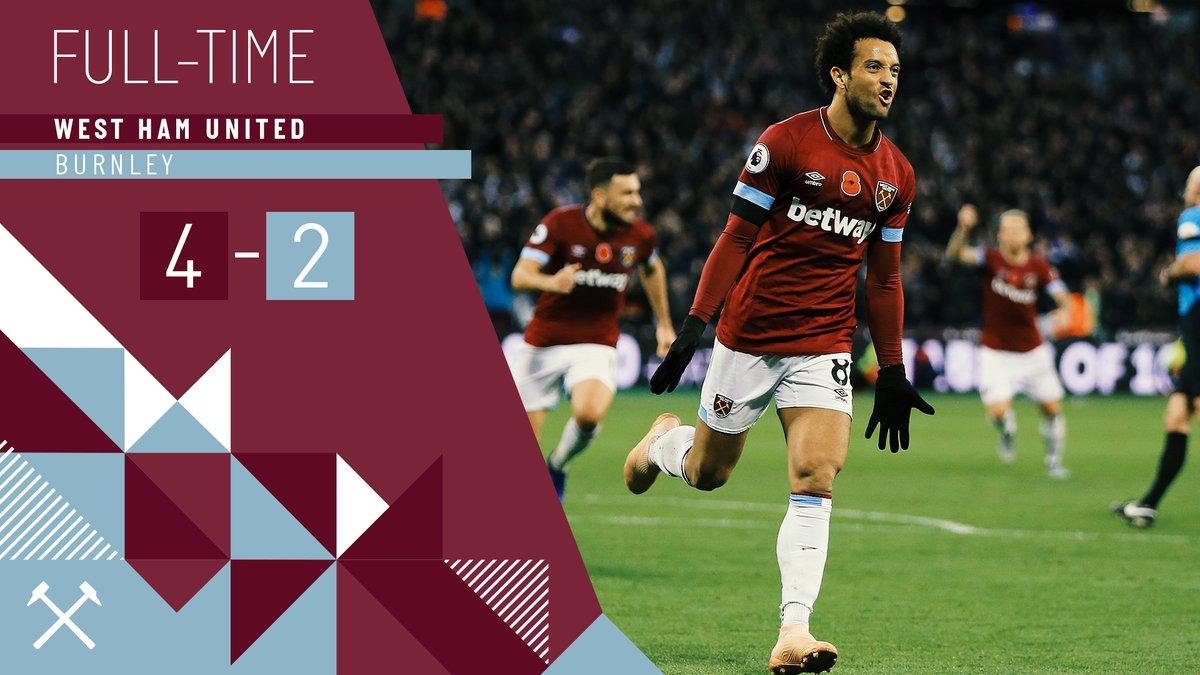 West Ham – Burnley 4-2