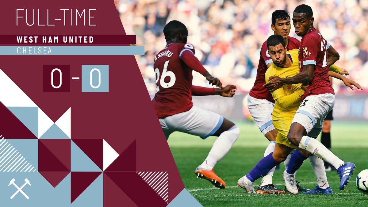 West Ham – Chelsea 0-0