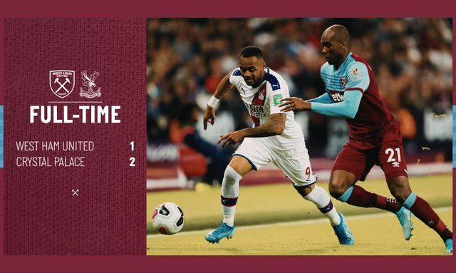 West Ham – Crystal Palace 1-2