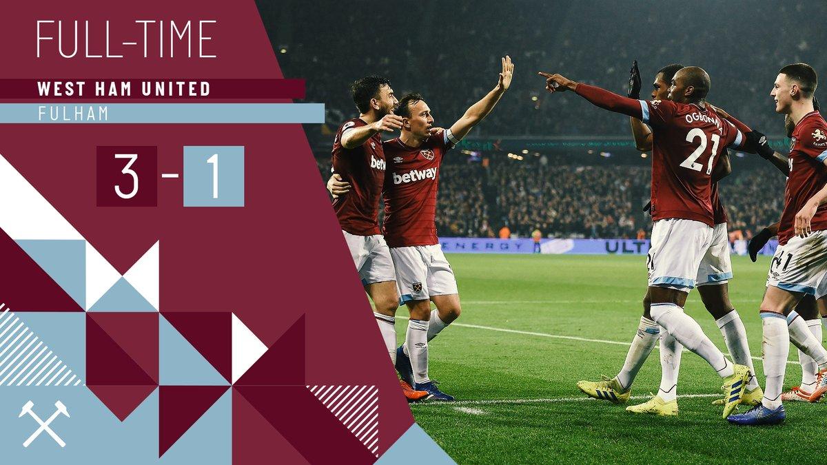 West Ham – Fulham 3-1