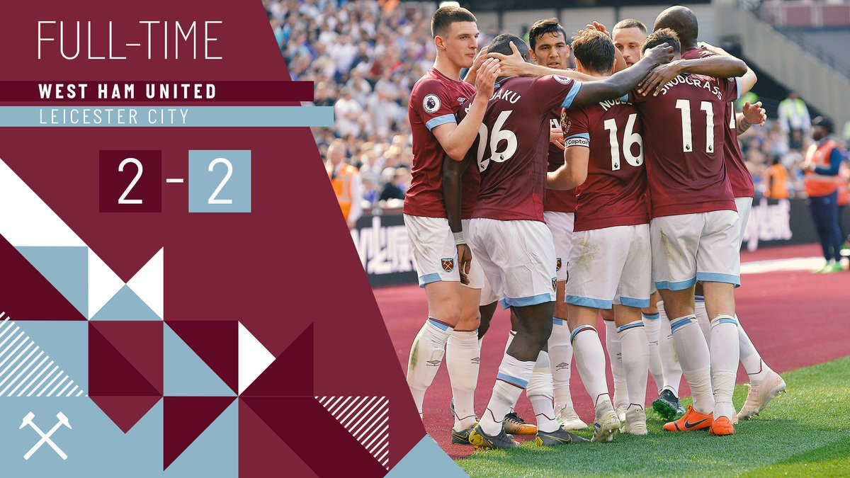 West Ham – Leicester 2-2