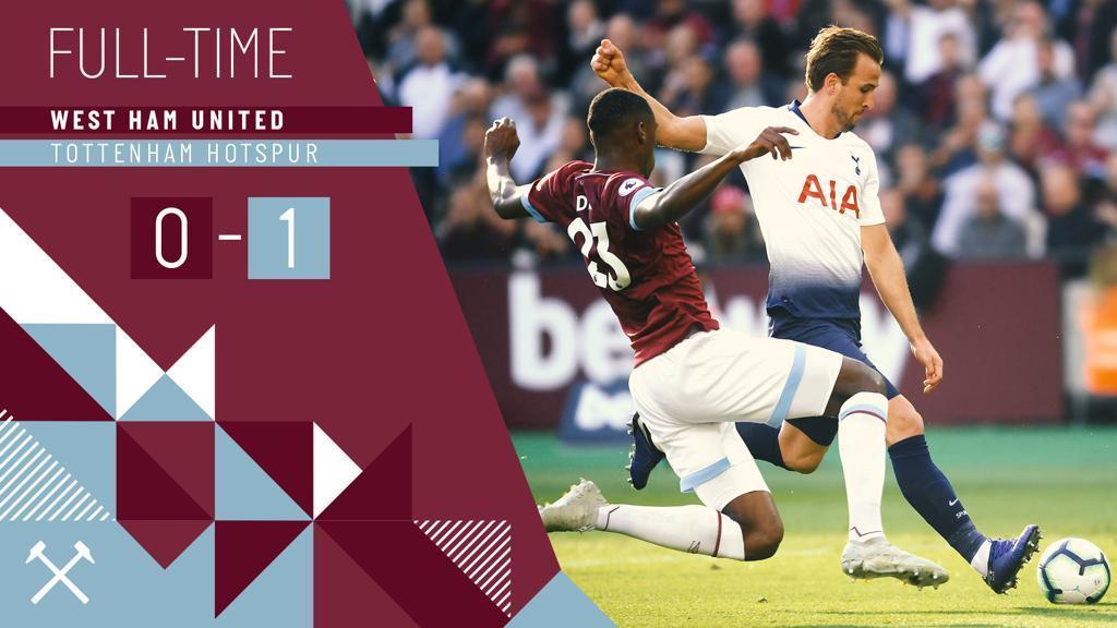 West Ham – Tottenham 0-1