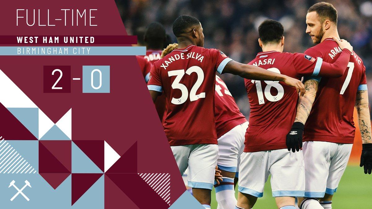 West Ham – Birmingham 2-0