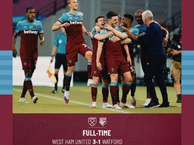 West Ham – Watford 3-1